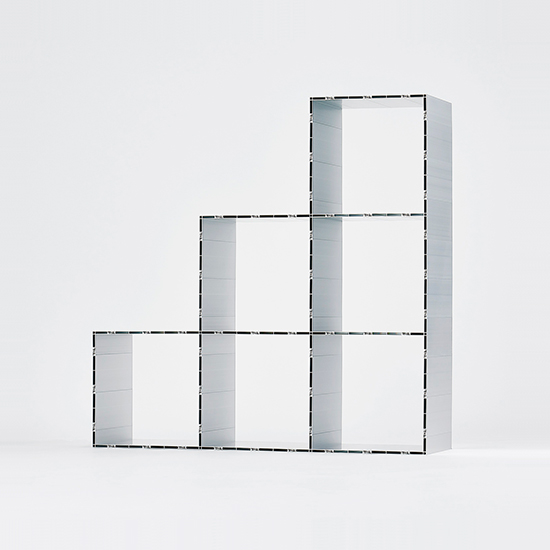 Grid Shelf 400 3×2×1